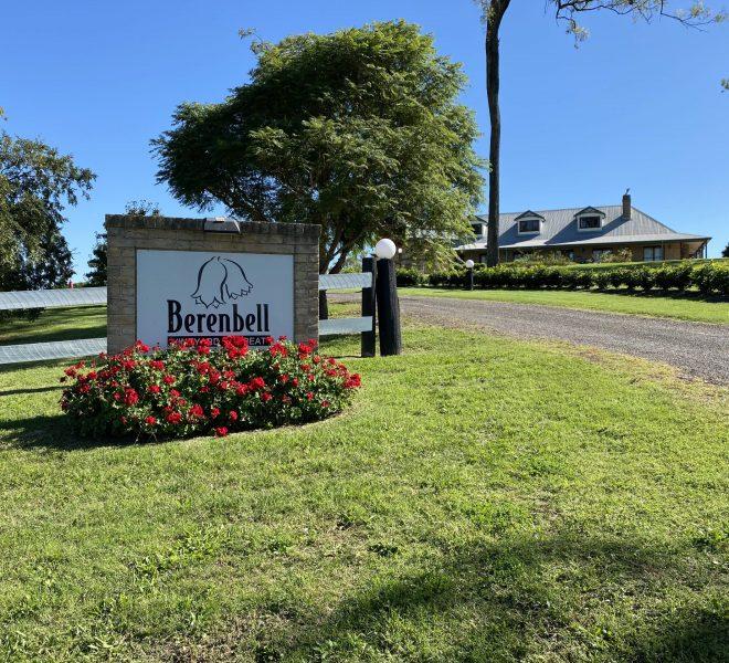 Berenbell's entranceway
