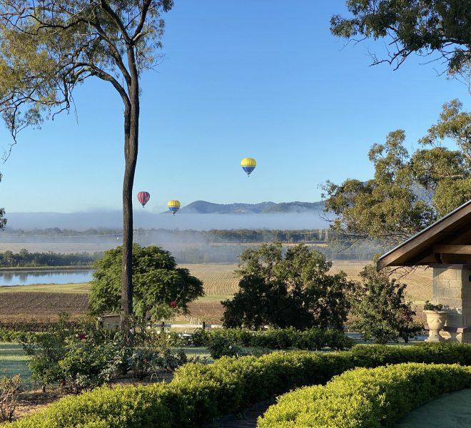 Hot air balloon sightings at Berenbell